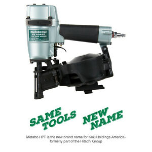 Hitachi NV45AB2 1-3/4 inch Adjustable Drive Coil Roofing Nailer
