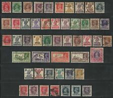 India: British, Small lot all differents, used. IN20