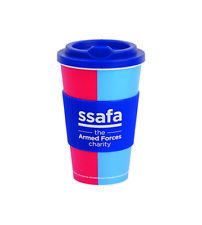 SSAFA Insulated Travel Mug for Tea or Coffee BPA Free