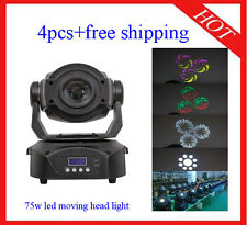 90W Led Moving Head Wash Light Professional Stage Lighting 4pcs Free Shipping