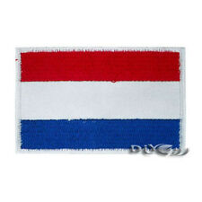 Netherlands Patch Embroidered Flag Sew or Iron on Patch National Flag Patches