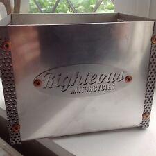 Custom Motorcycle la caja de batería, Cafe Racer, plano Tracker, proyecto, Bobber