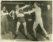BOB FITZSIMMONS vs PHILADELPHIA JACK O'BRIEN Vintage Boxing Photo SAN FRANCISCO