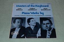 Masters Of The Keyboard~Berman, Ashkenazy, Shtarkman~Chopin, Prokofiev, Jongen