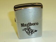 "MARLBORO ""COWBOY HORSEMAN"" ZIPPO LIGHTER - NEVER STRUCK - 1988 - RARE"