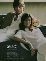 Publicité contemporaine mode Arrow 2003 issue de magazine