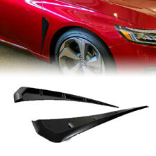 Type-R Glossy Side Fender Vent Air Wing Cover Trim for Honda Civic 2016-2018