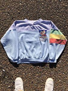 Rare VTG ADIDAS Oslo 1952 Melbourne 1956 Winter Olympic Games Sweatshirt 80s 90s