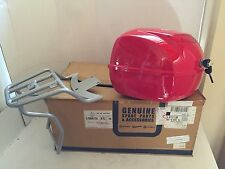 Genuine Piaggio Vespa PX 150 Top Case With Rack NEW In The Box