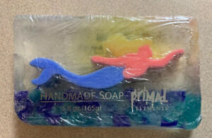 Handmade Primal Elements Blonde Mermaid Soap Blue Tail New Ocean