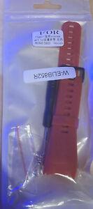Ersatz Silikon Armband Uhrenarmband für Garmin Vivosmart HR 2020 - Rot