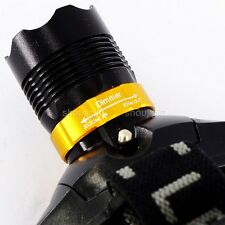 Variable Beam Spot/Flood AAA Battery LED 300 Lumens HEADLIGHT Headlamp Torch
