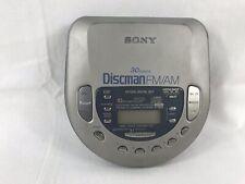 Sony Discman FM/AM CD Radio Tested Used D-T405