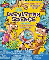 Scientific Explorer Disgusting Science Project Lab Kit Ages 8+ New Toy Learn Fun