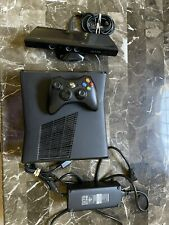 Xbox 360 S Console With Kinect, Controller, and Power Cable, Tested!