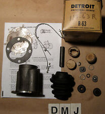 1956 Plymouth Fury Front U Joint Kit with Housing ~ Detroit Part # R63