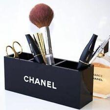 New Black Acrylic Cosmetic Box Make Up Organizer Brush Holder Vanity Box