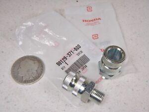 75-78 Honda Goldwing Front Turn Signal Blinker Mount Bolt Stay Set 5042-200x2