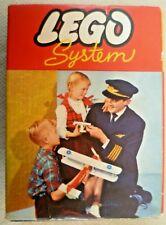 Vintage Lego - System Set #282 22 Blue 2x2 Sloping Roof Bricks - C1960-1965 #2