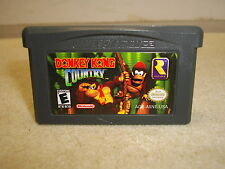 NINTENDO GAMEBOY ADVANCE DONKEY KONG COUNTRY GAME CARTRIDGE ONLY TESTED