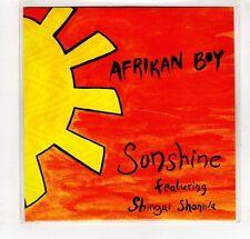 (GP152) Afrikan Boy, Sunshine Featuring Shingai Shoniwa - 2015 DJ CD