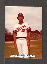 Dan Ford MINNESOTA TWINS UNSIGNED 3-1/2 x 4-7/8  COLOR ORIGINAL SNAPSHOT PHOTO 8