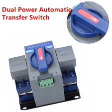Fantistic ​63A 2P Dual Power Automatic Transfer Switch CB ATS level & Manual Kit