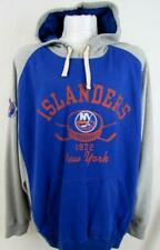 New York Islanders Men L Screened/Embroidered Pullover Hooded Sweatshirt ANYI 22