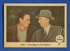 1959 Fleer Ted Williams # 9 1st Step To The Majors  EX/MT  additional ship free