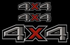 4x4 REFLEKTIERENDE Aufkleber 30x8cm Rally Nissan L200 Allrad Quattro Ram Jeep us