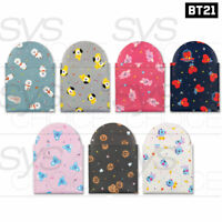 BTS BT21 Official Authentic Goods Pouch Mirror 7Characters By Monopoly