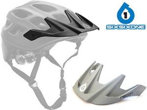 661 SIXSIXONE REPLACEMENT MTB HELMET VISOR PEAK to fit RECON bike lid cycle NEW