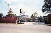Sylacauga Alabama~Ft Williams Motel~1950s Postcard