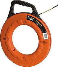 Klein Tools 56010 Navigator Fiberglass Fish Tape, 100-Foot Length
