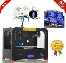 CTC 3D Black Printer - Dual Extruder - MK8 - Factory Direct Lowest Price- ABS