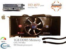  ATI HD 4870  1024MB (1 GB) Ram DDR5, 2 DVI, Mac Pro 1.1 > 5.1  2006 a 2012