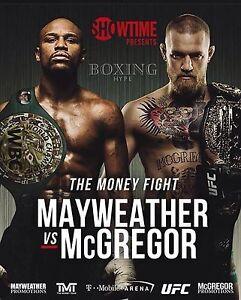 Floyd Mayweather vs Conor Mcgregor Photo - select size