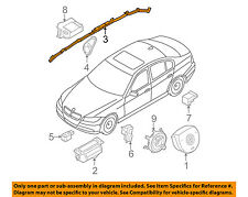 BMW OEM 07-10 328i Airbag Air Bag SRS-Inflator Curtain 72126966645