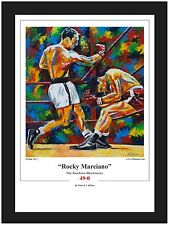 Boxing Rocky Marciano Limited Edition Art Print By Killian