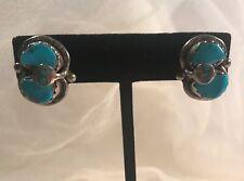 Sterling Clip Earrings