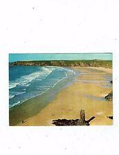 CORNISH POST CARD COLOUR PHOTO OF HOLYWELL BAY