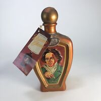 """Vintage Jim Beam's Choice Beethoven Weiss Art, 10"""" X 5"""""""