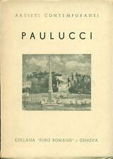 PAULUCCI - Enrico Paulucci. Testo di A. Rossi. Galleria d'Arte Euro Romano, 194