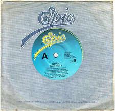 "WHAM - BAD BOYS - 7"" 45 VINYL RECORD - 1983"