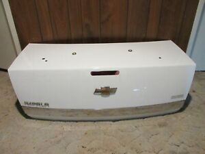 2006-2012 Chevy Impala White Trunk Deck Lid !!!NO SHIPPING!!! LOCAL PICKUP ONLY