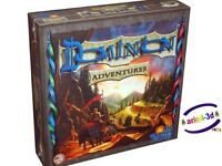 ADVENTURES - DOMINION EXTENSION RIO GRANDE GAMES NEW SEALED BOARD GAME
