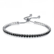Women Bangles Chain Bracelet Link Crystal Tennis Bracelet Jewelry Zirconia Decor