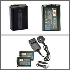 Rechargeable 1950mAh Li-ion Battery For Sony 2x NP-FW50 With Travel Charger Kit