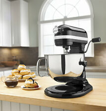 KitchenAid Rkp26M1Xob Pro 600 Stand Mixer 6-qt Black Super Capacity