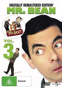 Mr. Bean - Vol 3 | Digitally Remastered Edition (DVD,2010) NEW+SEALED  t6